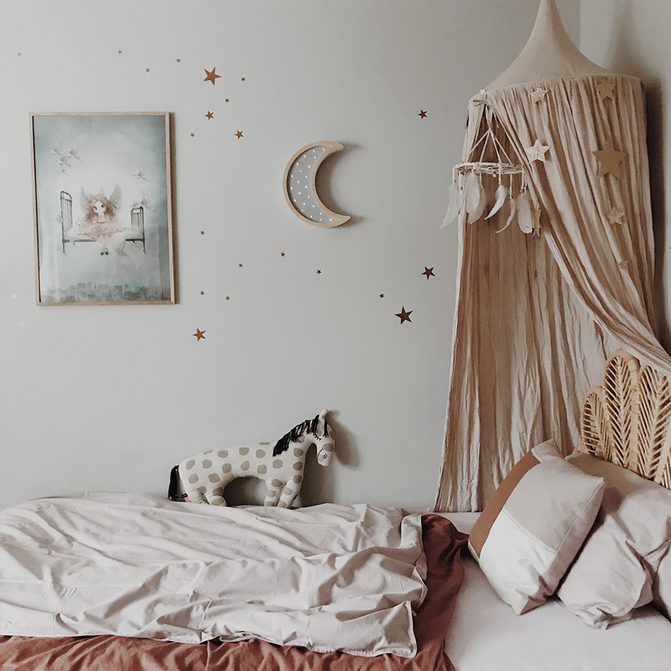 sabo concept scandinavian nursery withwooden night lamp moon in scandi style room