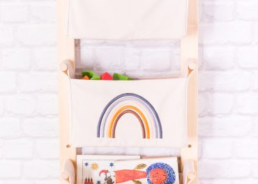 oversized vertical wall hanging storage