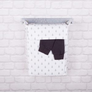 modern nursery laundry hamper