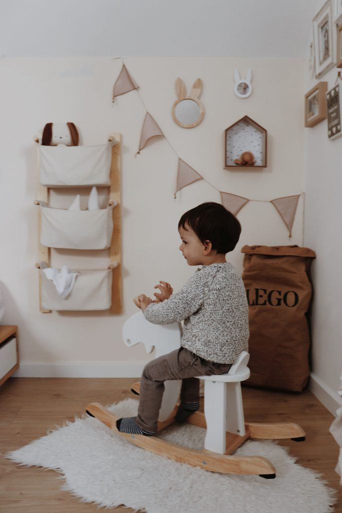 vertical hanging organizer for small kids room