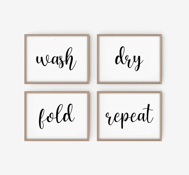 10 best laundry room decor signs