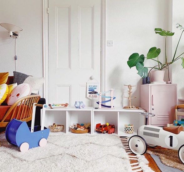 how to benefit from an organized kids room