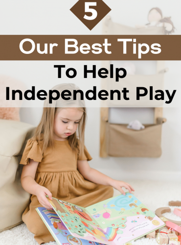 5 best tips to help independent play